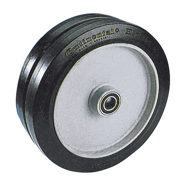 Solid rubber wheel model CNZ