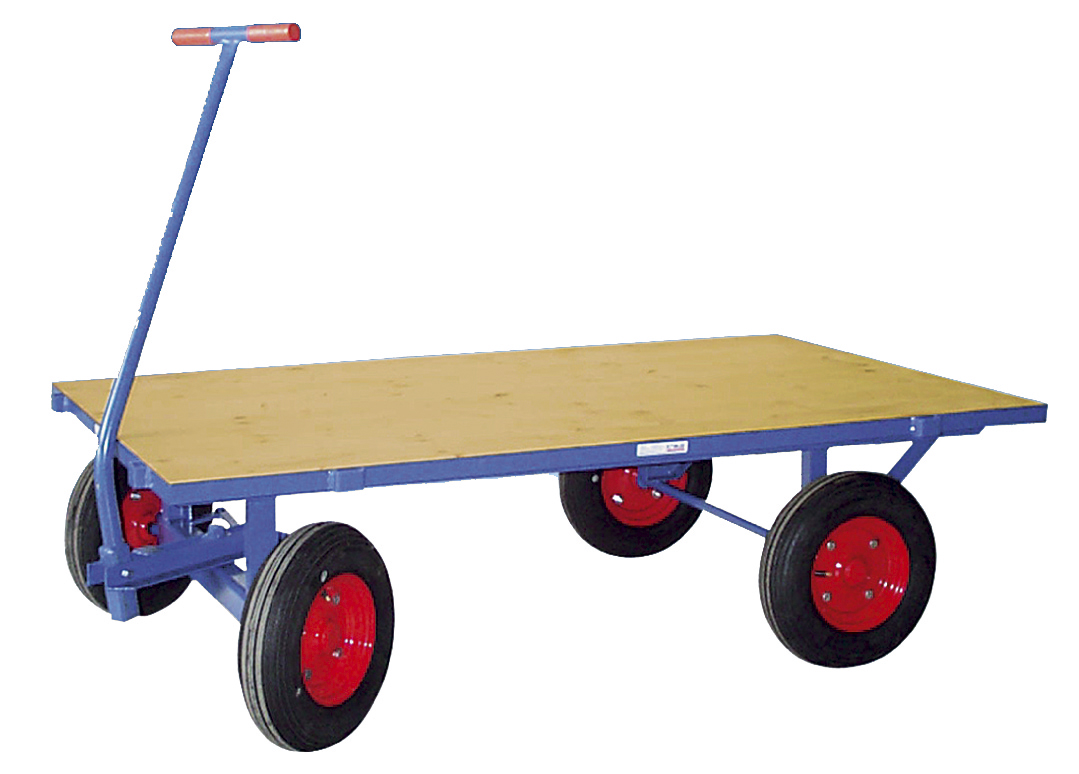 Hand flatbed trucks without side walls