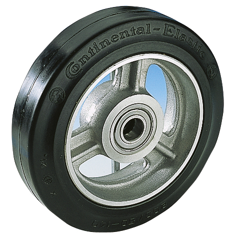 Solid rubber wheel model CE