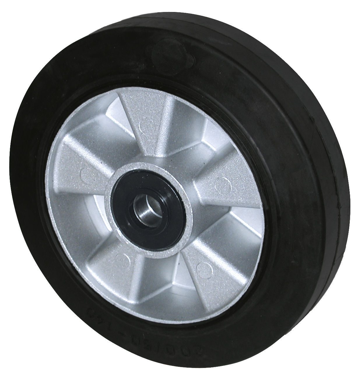 Solid rubber wheel model CR