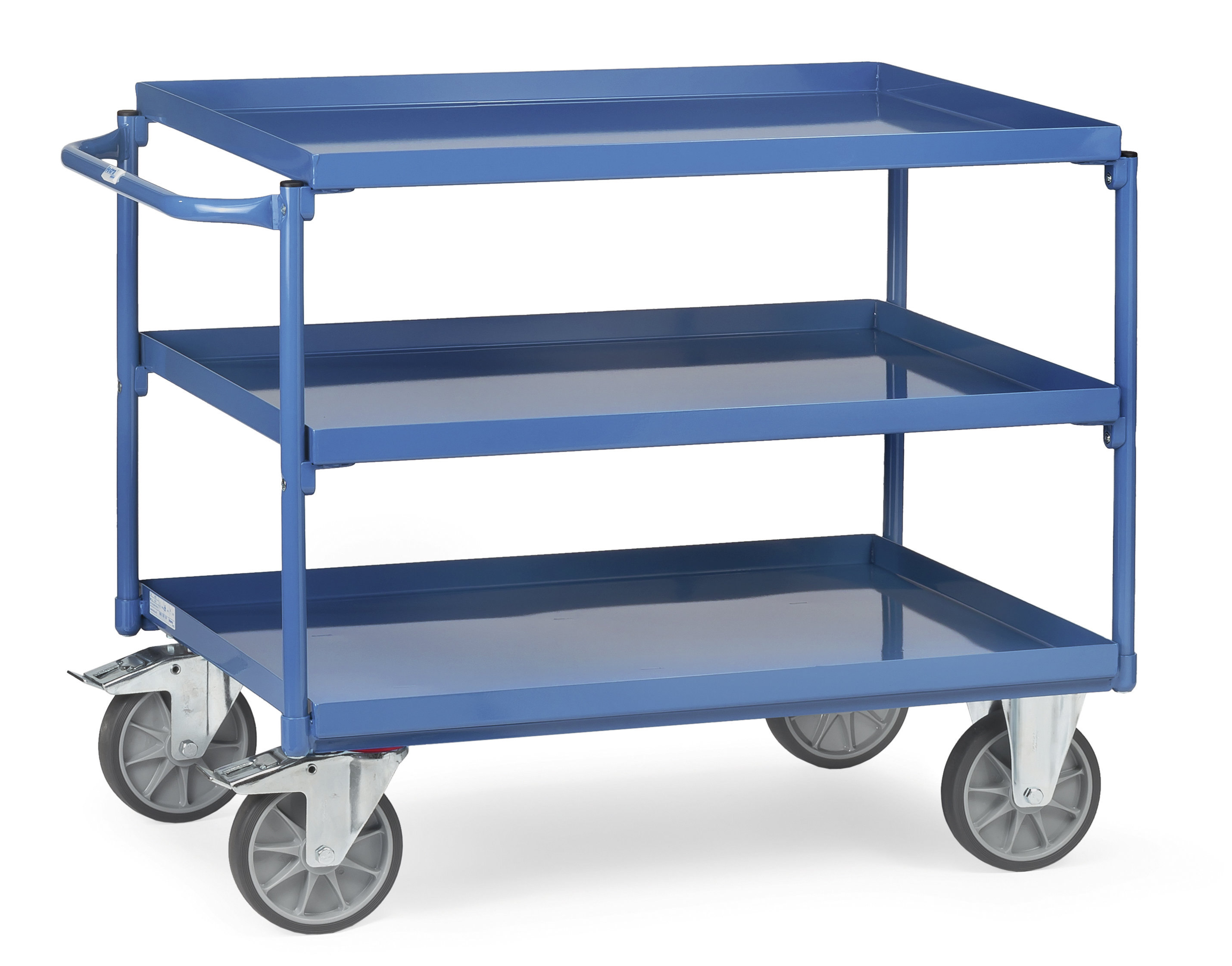 Table trolley with steel trays model 4830/4832