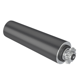 Tapered  rollers with chain drive